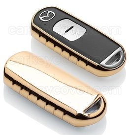 Mazda SleutelCover - Goud (Special)