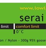 Lowland Outdoor Lowland - Mummy model - Serai Ultra 1 - 795 gr  -  0°C.