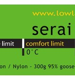 Lowland Outdoor LOWLAND OUTDOOR® Serai Ultra 1 - 795 gr - 215x80 cm 0°C