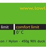 Lowland Outdoor Lowland  - Mumienmodel - Serai 1 - 895 gr - 0°C.