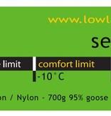 Lowland Outdoor Lowland - Mumienmodel - Serai 600 2 - 1335gr -10°C.