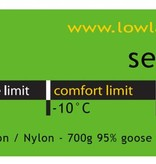 Lowland Outdoor Serai 600 2│230 cm│1335gr│-10°C│Nylon