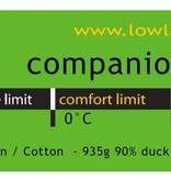 Lowland Outdoor Companion NC│Extra Breed│1995g│220x100cm│0°C