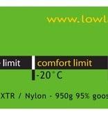 Lowland Outdoor Lowland  - Glacier Lime  -  Expeditiemodel Slaapzak - min 20°C