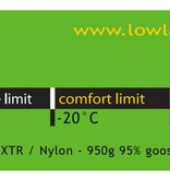 Lowland Outdoor Lowland Glacier Lime - Expeditionmodel - Glacier - minus 20°C.