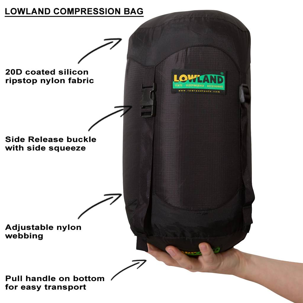 Lowland Outdoor LOWLAND OUTDOOR® Compression Bag - 15 Liter - 85 Grams
