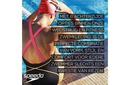 Speedo - Wedstrijd en zwemfitness achterzijde