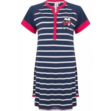"""Rebelle stripey nightdress """"ladybird best of friends"""""""