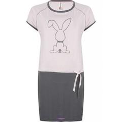 """Rebelle Girls nachthemd met korte mouwen """"diamanten konijn"""""""