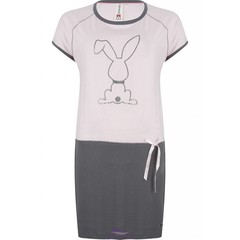 "Rebelle Girls short sleeve nightdress ""diamanté bunny"""
