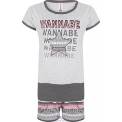 "Rebelle shortama set ""Wannabee a Star"""