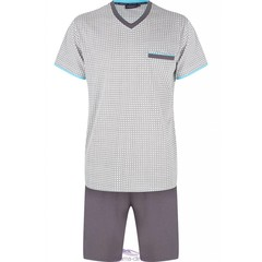 "Pastunette for Men heren shortama ""diamonds & crosses"""