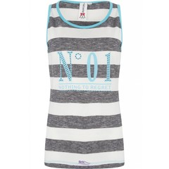 "Rebelle sleeveless striped vest ""No 01"""
