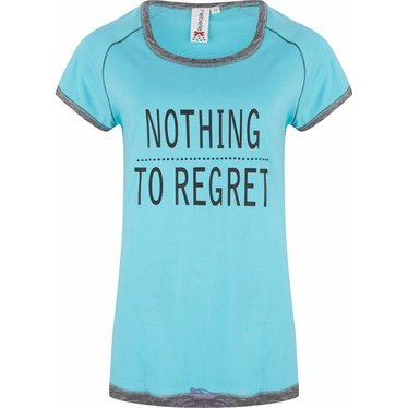 "Rebelle t-shirt ""Nothing To Regret"""