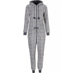 Rebelle 'trendy zigzags' fleece onesie