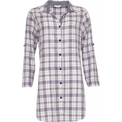 Cyberjammies Abigail check cotton nightshirt