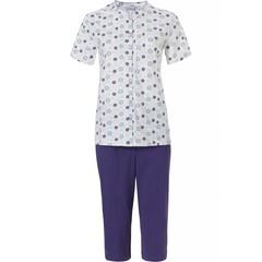 Pastunette short sleeve, capri pyjama set 'uniquely floral'