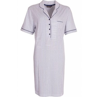 """Pastunette Deluxe cotton nightdress with buttons """"Just Simply Stripes"""""""