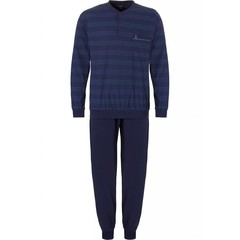 Robson men's cotton pyjama set 'little triangles line'