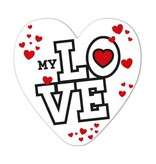 Rozen.nl kaartje Love serie -1