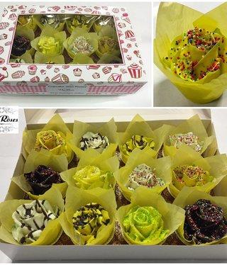 Choco cupcake easter mix (x12)