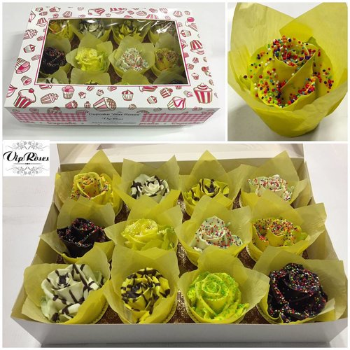 Choco cupcake easter mix (x12)