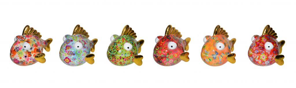 Pomme-pidou Spaarpot Piranha Barry