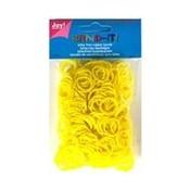 Band -it Die Gummibänder 600 Stück. Gelb
