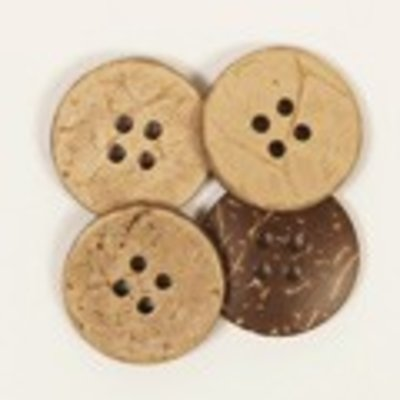 Drops Button Coconut 15mm / 515