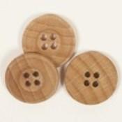 Drops Button Eiche 25mm / 502