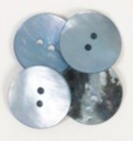 Drops Round Button (blue) 20mm / 612