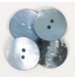 Drops Round Button (blue) 20mm / 612