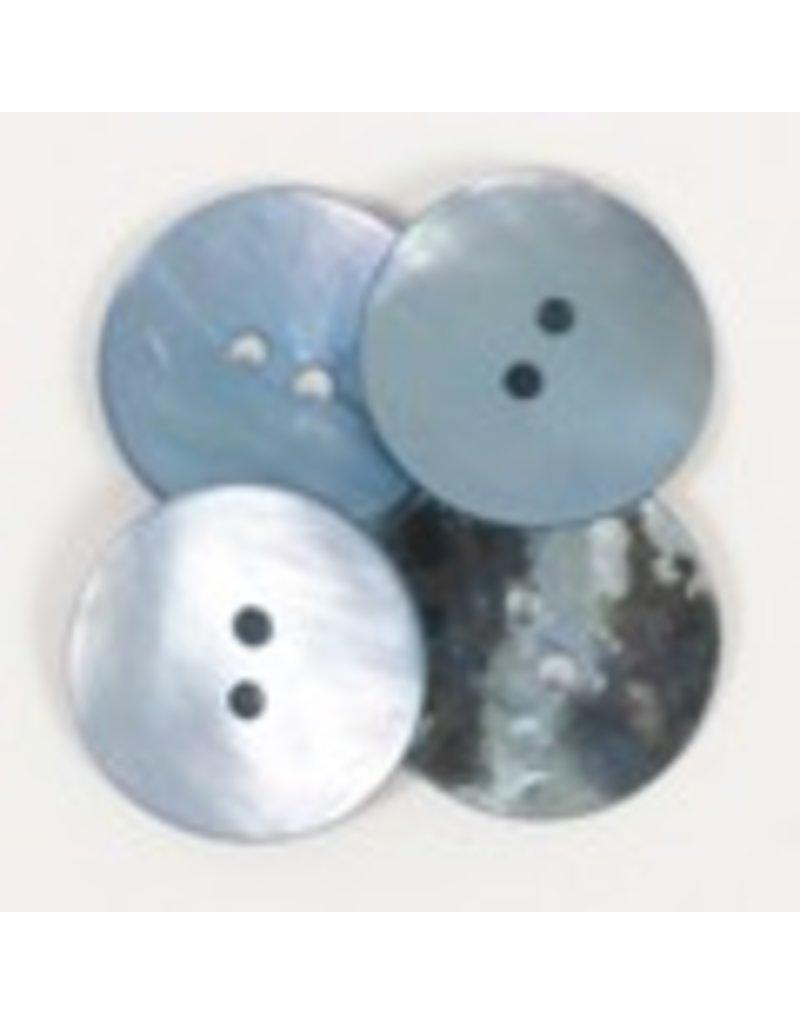 Drops Runder Knopf (blau) 20 mm / 612