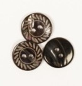 Drops Engraved Button 15mm / 525