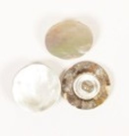 Drops Button Blind button (white) 15mm / 523