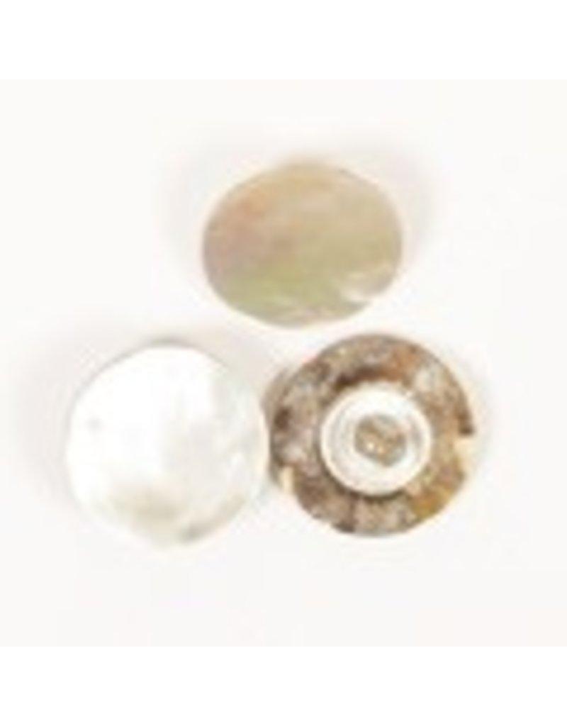 Drops Button Blinde Taste (weiß) 15 mm / 523