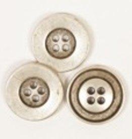 Drops Knoop Rond (zilver) 20mm / 533