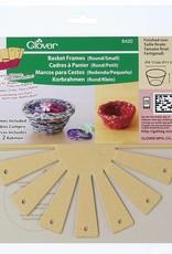 Clover Frame for baskets around/small 8420