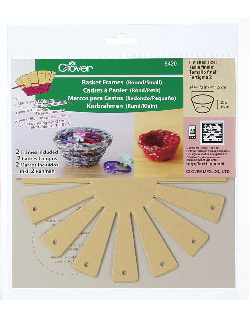 Clover Frame for baskets around/small 8420