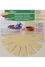 Clover Frame for baskets (small oval) 8422