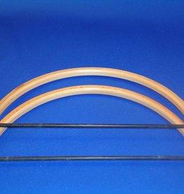 Bags Bracket half round beuken17,5 cm
