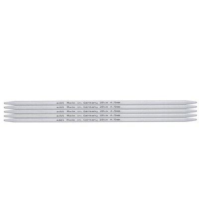 Addi Aluminium-Socken Nadeln 10cm / 2mm