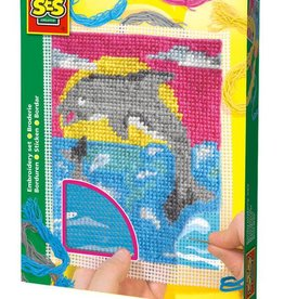 Embroidery package Dolphin