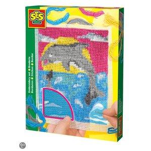 Borduur pakket Dolfijn