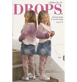 Drops Knitting Book Children 124