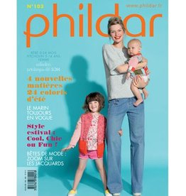 Phildar Knitting book 103