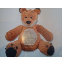 DMC Knitting kit Toby bear