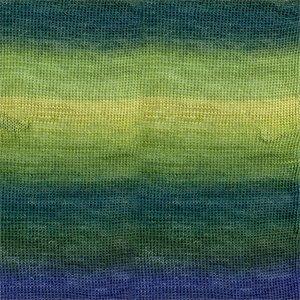 Drops Delight 16 Groen/blauw