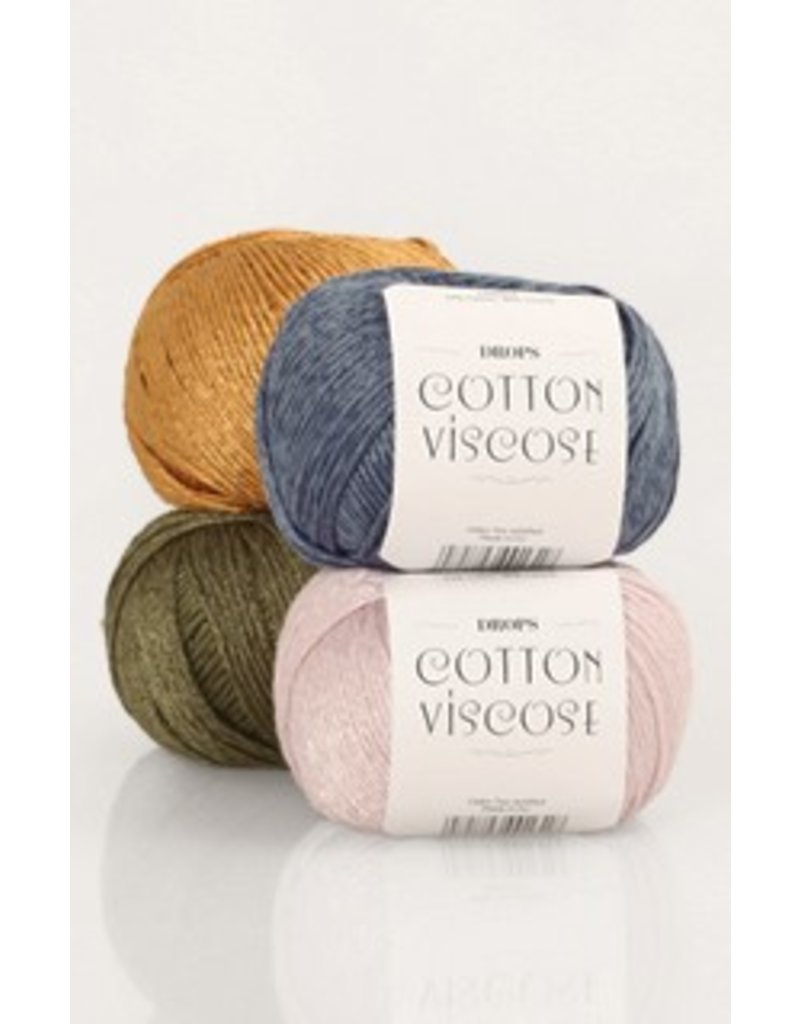 Drops Cotton Viscose Wool & Yarn