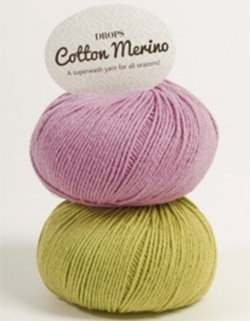 Drops Cotton Merino Wolle und Garn